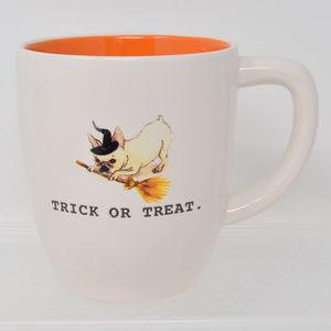 Rae Dunn Trick or Treat Pug Terrier Mug New
